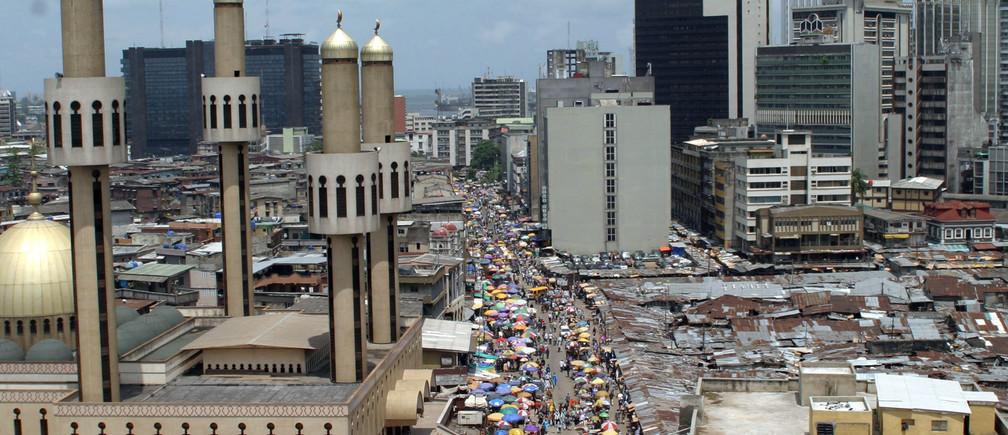 città africane